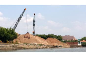 Giá cát xây dựng liên tục